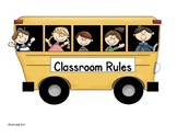 Cute and Simple Classroom Rules