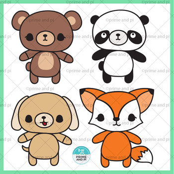 Cute Animals Clip Art