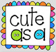 Cute as a Button {P4 Clips Trioriginals Digital Clip Art}