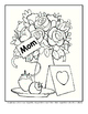 Cute card for mum in Mother's Day