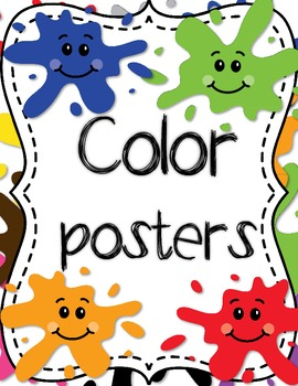 Cute color posters -