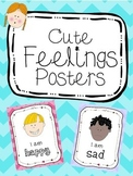 Cute feelings/emotions posters