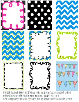 Cute frames and papers for Personal or Commerical use