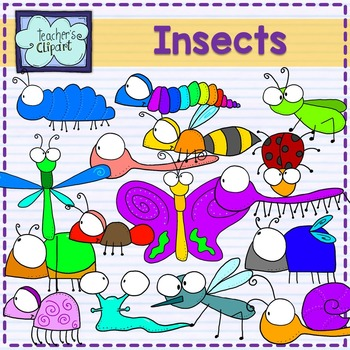 Insects and bugs clipart