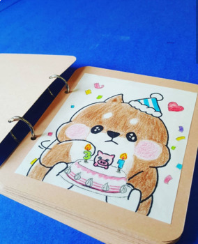 Cute mini diary/journal