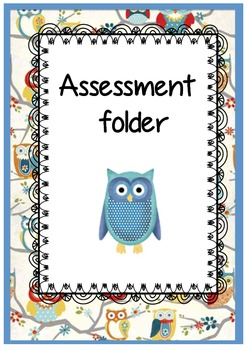 Cute owl themed binder covers