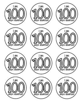 This is a photo of Effortless 100 Days Smarter Printable