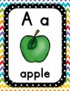 Back to School - Alphabet Set, Polkadot and Chevron Theme