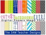 Cutest Backgrounds Ever: Digital Background Mega Pack!