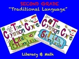 Cutest-EVER! 2nd / SECOND Grade Common Core Posters / Literacy & Math Standards