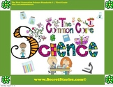 Cutest EVER Common Core SCIENCE STANDARDS Posters for Firs