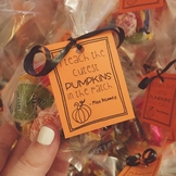 Cutest Pumpkins in the Patch Goodie Bag Tags *Editable*