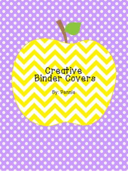 Creative Binder Covers