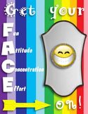 Cutesy FACE Poster
