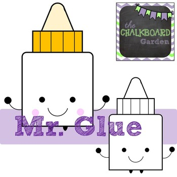 Cutesy School Supply Character Graphics