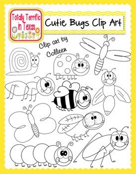 Cutie Bugs Clip Art