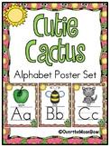 Cutie Cactus | Alphabet Poster Set