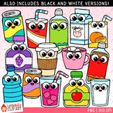 Cutie Drinks Clip Art