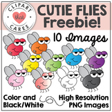 Cutie Flies Freebie by Clipart That Cares
