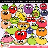 Cutie Fruit Clip Art