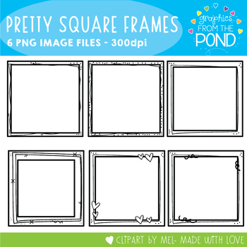 Cutie Square Frames