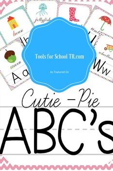 Cutie Pie Wall Alphabet