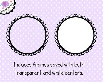 Cutout Scalloped Digital Frames 2