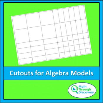 Algebra:  Cutouts for Algebra Models
