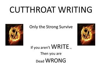 Cutthroat Writing