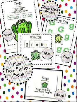Cuttin' It Close! Brown Bear & Friends Close Reading Pack {Kindergarten}
