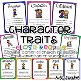 Cuttin' It Close! CHARACTER TRAITS ~ Social & Emotional Learning Close Reads