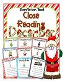 Cuttin' It Close! DECEMBER Close Reading Pack {Kindergarte