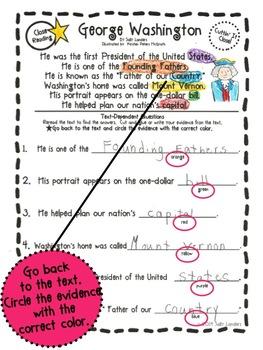Cuttin' It Close! February Close Reading Pack {Kindergarten, 1st & 2nd Grade}