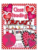 Cuttin' It Close! February Close Reading Pack {Kindergarte