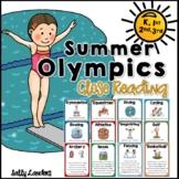 Cuttin' It Close!  SUMMER OLYMPICS Close Reading Pack   K,