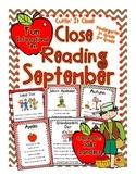 Cuttin' It Close! September Close Reading Pack {Kindergarten, 1st & 2nd Grade}