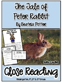 Cuttin' It Close! The Tale of Peter Rabbit by Beatrix Potter  {K,1,2,3}