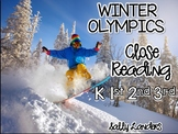 Cuttin' It Close! Winter Olympics Close Reading Pack {K, 1st, 2nd & 3rd Grade}