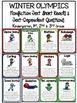 Cuttin' It Close! Winter Olympics Close Reading Pack {K, 1st, 2nd & 3rd Grade}