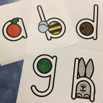 Cutting Activities - with Alphabet