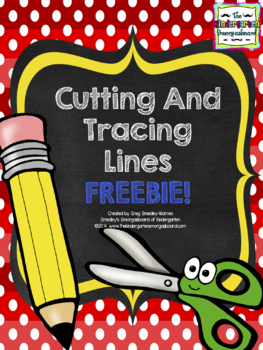 Cutting And Tracing Lines! A BLACKLINE/Ink Saver Freebie!