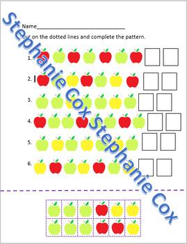 Cutting Apple Patterns
