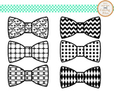 Cutting Files -Bow Tie Pattern - Digital Clipart(013C)