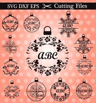 Cutting Files -Christmas Decoration- Digital Deco Files(026C)