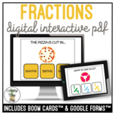 Cutting Food Fractions Digital Interactive Activity Life Skills Cooking