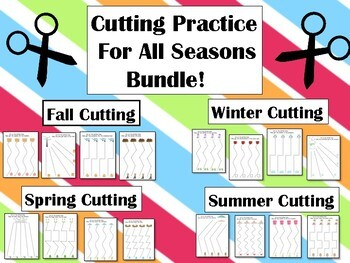 Cutting For All Seasons Practice Page Bundle!