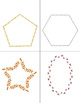 Cutting Freebie: Shapes, lines, suns and more…