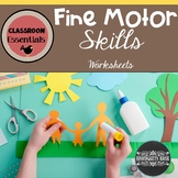 Fine Motor Skills Cutting Gluing and Drawing