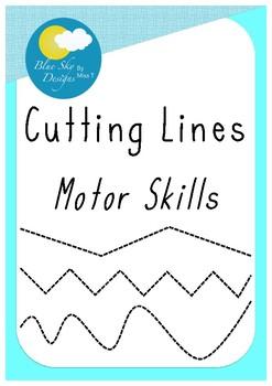 Cutting Lines (Motor Skills)