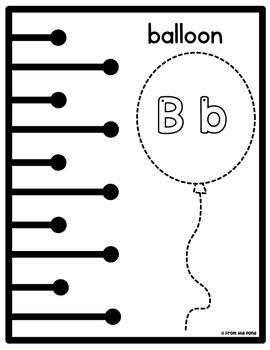 Cutting Practice {Basic Scissor Skills} with Alphabet Tracing